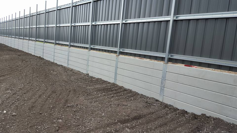 Smooth Natural Concrete Sleepers 1800x200x80
